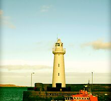 Donaghadee Lighthouse_1  by Krystal Cunningham