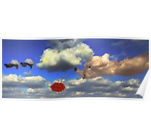 Storybook Clouds Poster