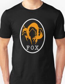 FoxHound Black Metal Gear Solid T-Shirt