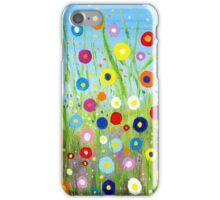 Happy Little Garden 2 iPhone Case/Skin
