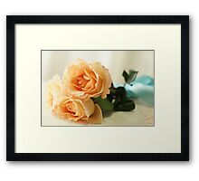 Floating in the Clouds of Love Framed Print