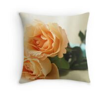 Floating in the Clouds of Love Throw Pillow