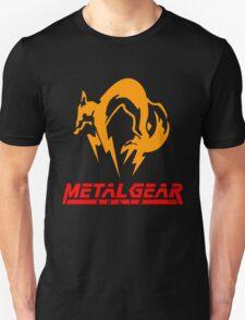 FoxHound Black Metal Gear Solid Black T-Shirt