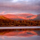 Sunset in the Lake District by McBay