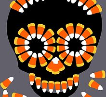 Candy Skull Halloween Theme by Patjila by patjila