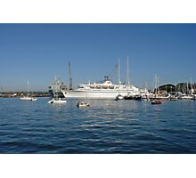 Falmouth Harbour  Photographic Print