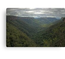 Kangaroo Valley, NSW, Australia  HDR) Canvas Print