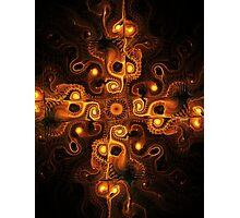 Orange Cross Photographic Print