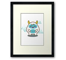 Say Hi to the Cool Guy Framed Print