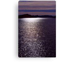Stars on Horsetooth Reservoir Canvas Print