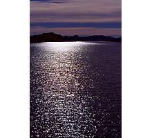 Stars on Horsetooth Reservoir Photographic Print
