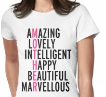 Mother Quote Womens Fitted T-Shirt