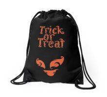 Boo Monster Trick Or Treat  Drawstring Bag