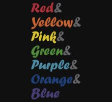 I Can Sing a Rainbow, arranged by Stroop One Piece - Short Sleeve