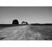 The Old Dirt Road Photographic Print