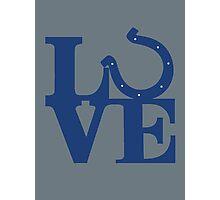 LOVE - Colts v2 Photographic Print