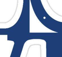 LOVE - Colts v2 Sticker