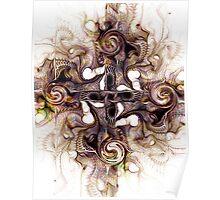 Desert Cross Poster