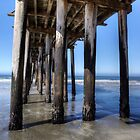 Under the Wooden Pier by Brendon Perkins