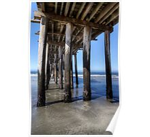 Under the Wooden Pier Poster