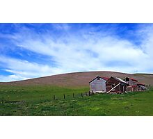 Patterson Pass Rd  •  Livermore Farm Photographic Print