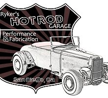 Rykers Hot Rod Garage by surgedesigns