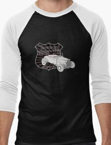 Rykers Hot Rod Garage Men's Baseball ¾ T-Shirt