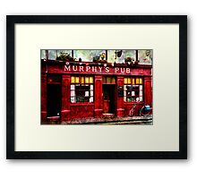 Murphy's Pub Dingle Framed Print