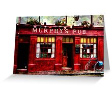 Murphy's Pub Dingle Greeting Card