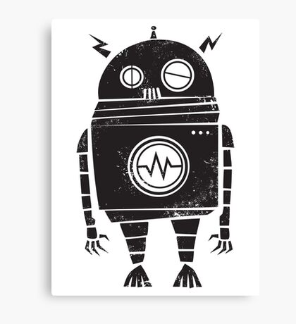 Big Robot 2.0 Canvas Print