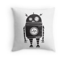 Big Robot 2.0 Throw Pillow