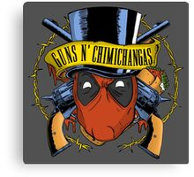 Guns n Chimichangas Canvas Print