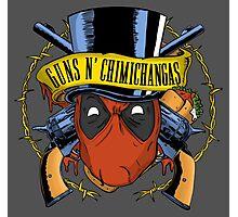 Guns n Chimichangas Photographic Print