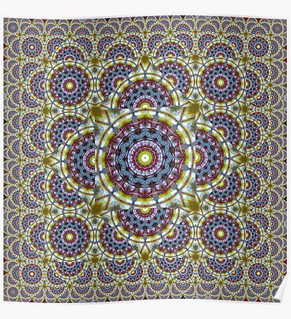 Beer Glass II Escher Tessellation Poster