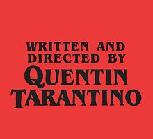tarantino by theredcosmonaut