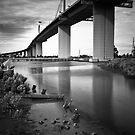 Westgate Bridge, Melbourne  by Christine  Wilson Photography