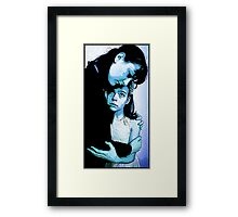 360 - A Little Protect Darkly Framed Print