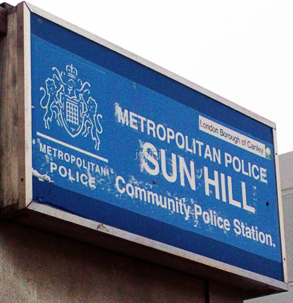 357 - Television's Sun Hill Police Station by jdubj