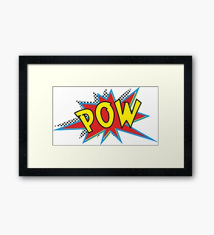 POW Framed Print