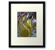 Beer Glass and Lighter Framed Print