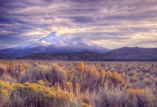 Mount Shasta, California by James Hoffman