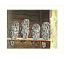 Four Wise Men Art Print