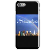 9/11 Rainbow - Somewhere iPhone Case/Skin