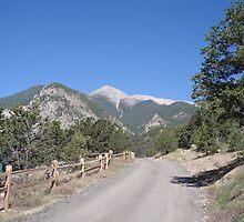 Distant Mountain by Noah  Shearer