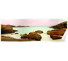 Lucky Bay, Esperance, Western Australia Poster