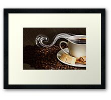 Another cup of coffee Framed Print