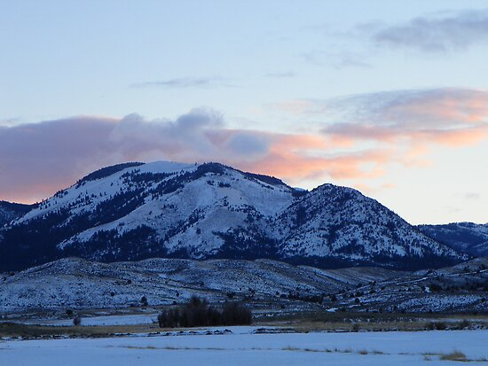 Sunset Over Bullrun by © Betty E Duncan ~ Blue Mountain Blessings Photography