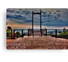 Sealy Lookout at dusk Canvas Print