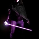 Female dark Sith by Douglas M. Paine