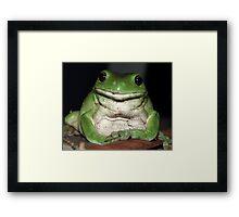 Kermit's Cousin Framed Print
